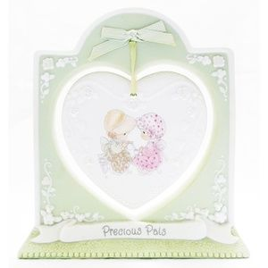 1997 PRECIOUS MOMENTS Precious Pals Heart Plaque